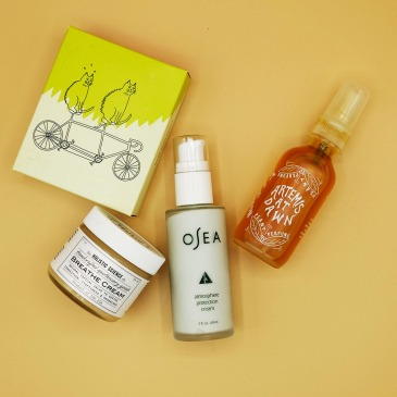 Plastic-free skincare products