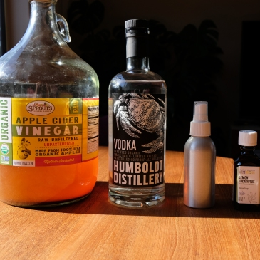 DIY bug spray ingredients
